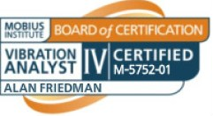 Alan Friedman ISO 18436-2 Category IV Vibration Analyst