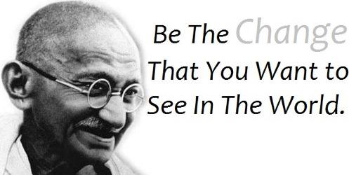 "Storie Zen, Ghandi chiese: ""Perchè due persone arrabbiate gridano?"