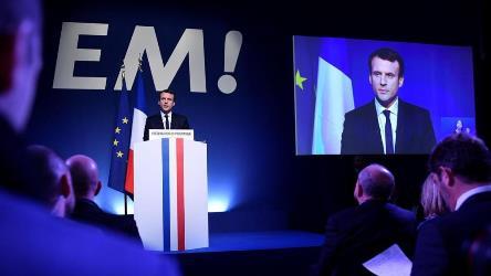 Elezioni francesi, è Macron l'anti Marine Le Pen