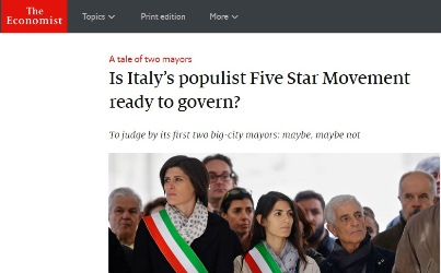 The Economist: il movimento 5 stelle è pronto per governare?