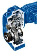 Parallel shaft gear