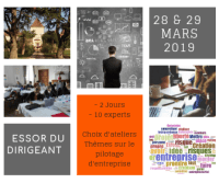 Essor du Dirigeant : session de mars 2019