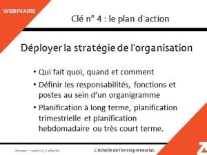 Clé n°4 : le plan d'action pour générer de l'efficacité dans l'équipe