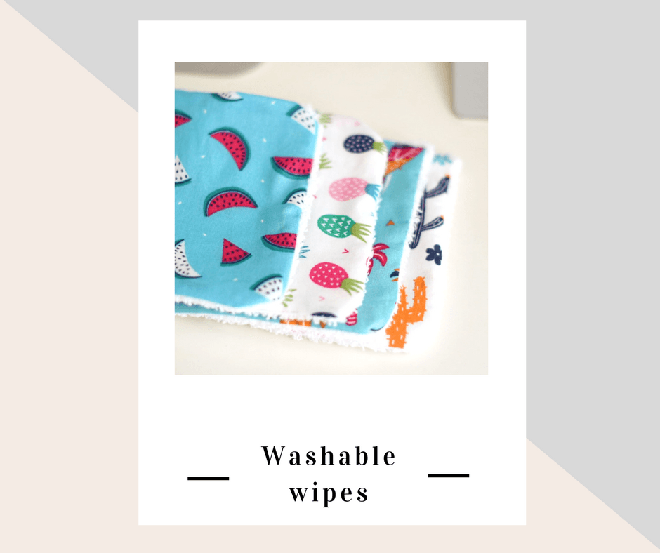 Washable wipes - 100% coton, Zen Garden Cosmetics