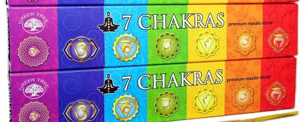 Chakra Incense Meditation Sticks