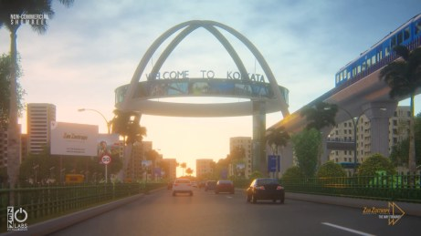 Kolkata Gate or Biswa Bangla Gate is an arch-monument built by Housing Infrastructure Development Corporation