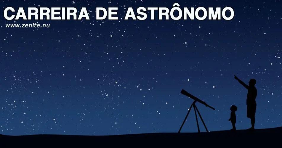 Carreira de Astrônomo