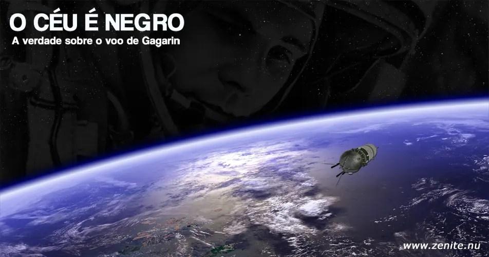 O céu é negro