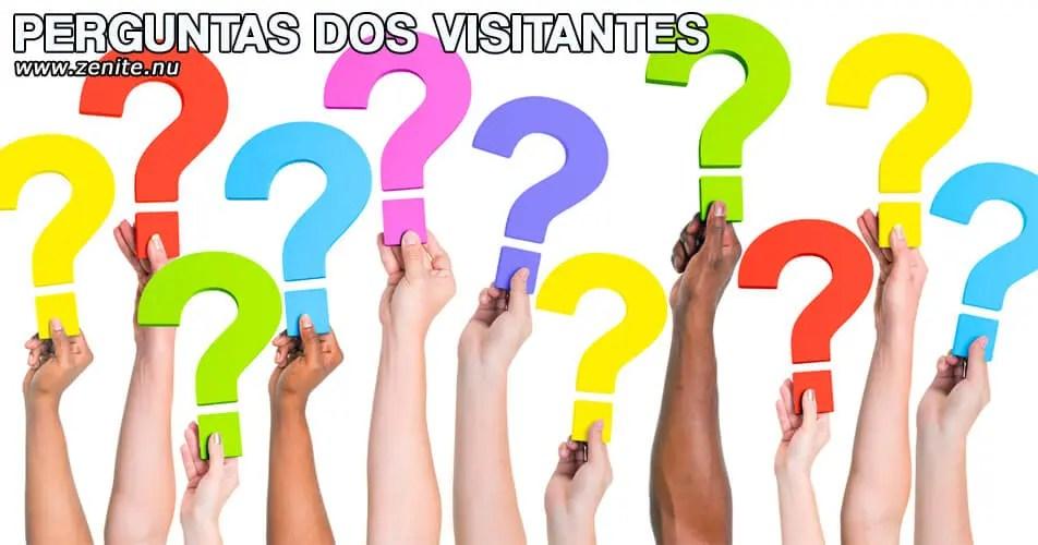 Perguntas dos visitantes