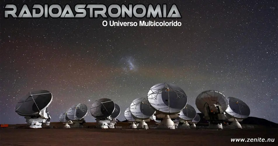 Radioastronomia: o universo multicolorido