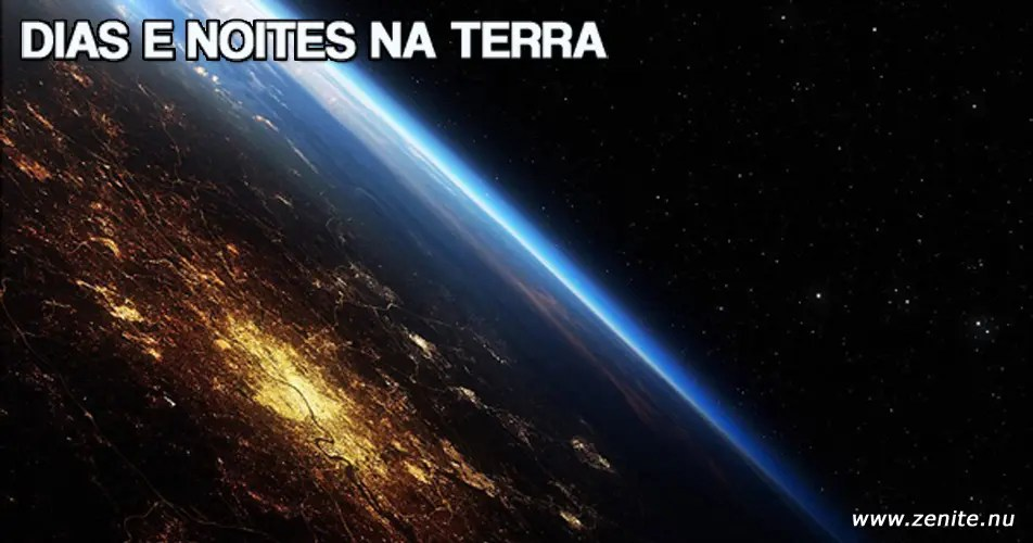Dias e noites na Terra