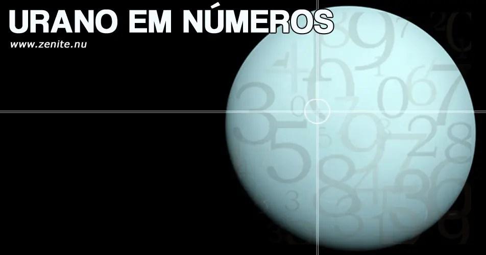 Urano em números