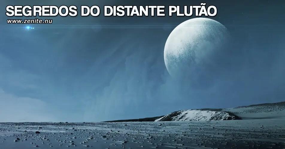 Segredos do distante Plutão