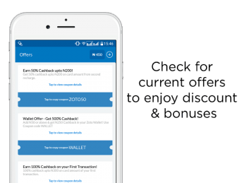 Zoto app coupon