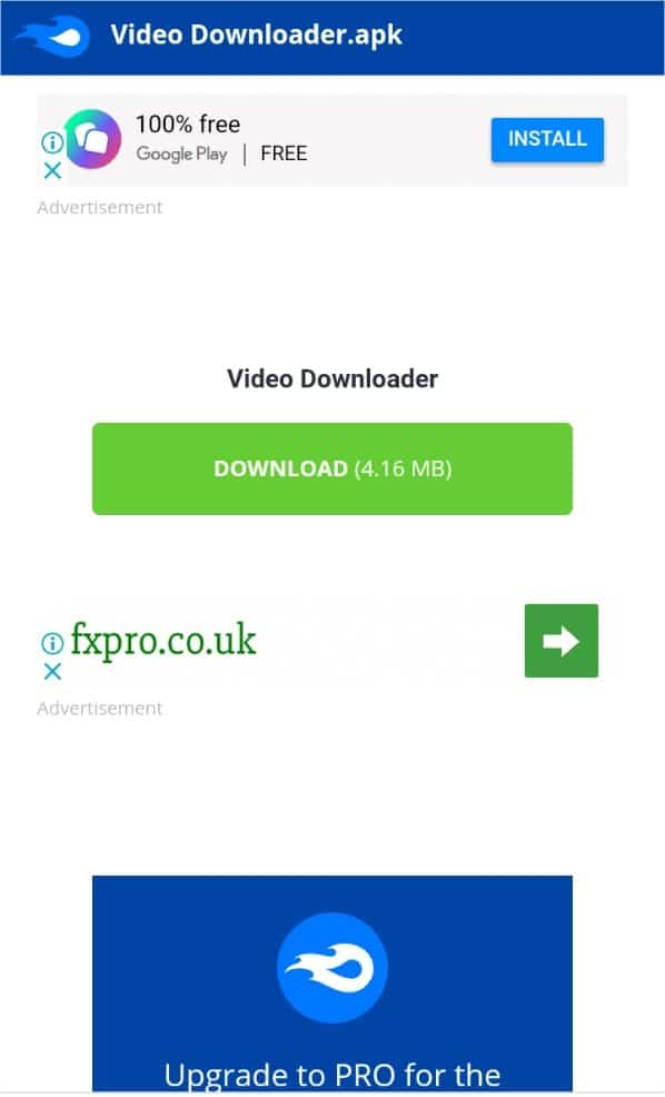 Download apk application