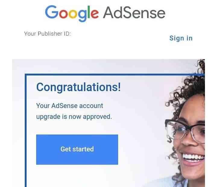 Create an Adsense Account
