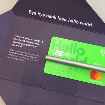Transferwise cards