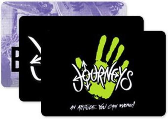 Journey gift card idea