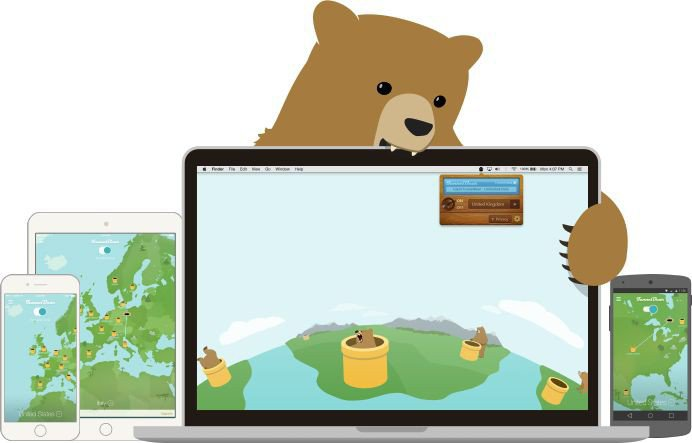 TunnelBear VPN Services