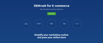 SEMrush for eCommerce