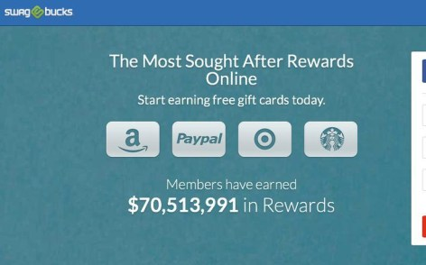 Earn Amazon gift cards on Swagbucks