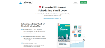 What is Tailwind for Pinterest Scheduler