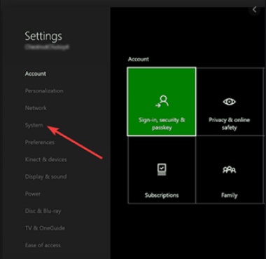 Network Settings | VPN with Xbox