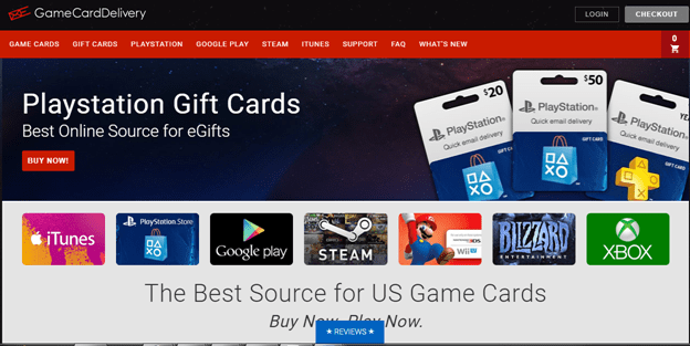 Game Card Delivery Paypal Credit for Amazon