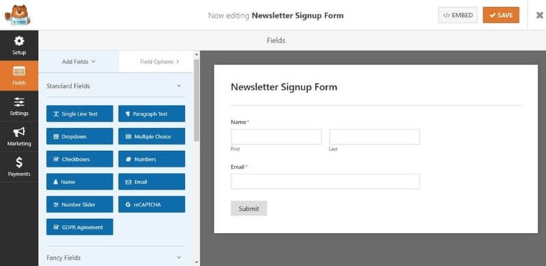 Create a Newsletter Signup Form