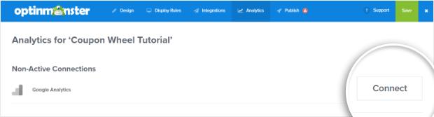 Google Analytics with OptinMonster