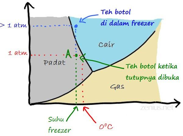 Teh Boto dibuka dengan Diagram Fase