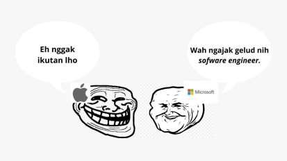 Microsoft VS Apple