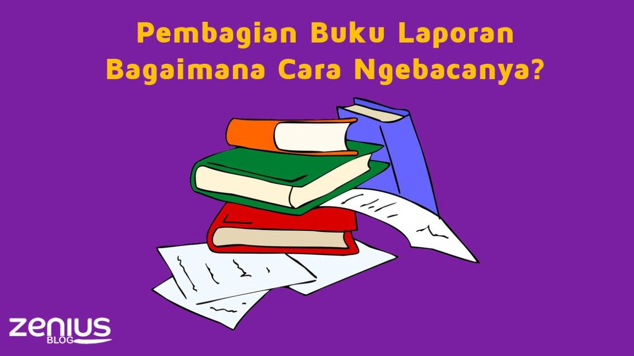 Pembagian Buku Laporan di Sekolah