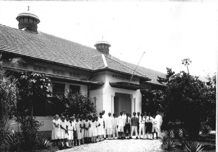 Sekolah MULO di Medan sekitar tahun 1925