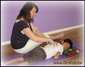 Ouder Kind massage met massageverhaaltjes