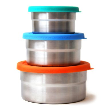 Top 20 Summer Travel Essentials: Stainless Steel Snack Conatiners -Blue Water Bento series from Ecolunchboxes.com