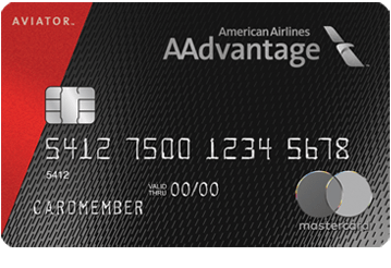 AAdvantage Aviator Red World Elite Mastercard - 60,000 American Airlines Miles With One Purchase