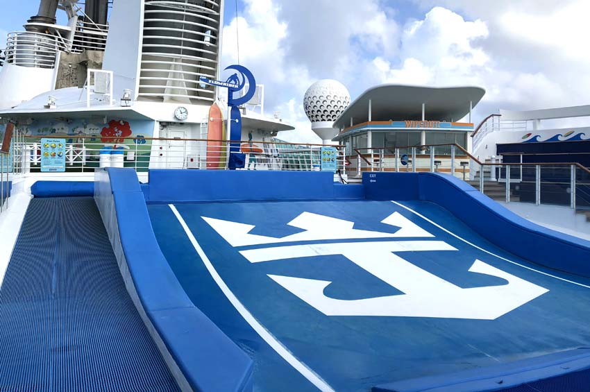 Royal Caribbean Freedom of the Seas Review   Freedom of the Seas Activities Flowrider