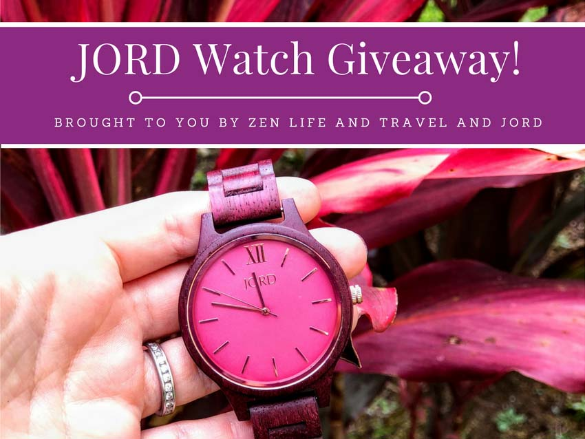 JORD Wood Watch | Unique gift idea for Valentine's Day| Wood Watch For Women | Purple Watch | JORD Watch Giveaway | JORD Watch Discount | JORD Giveaway | JORD Coupon Code