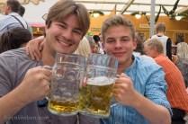 Cheers! At Oktoberfest