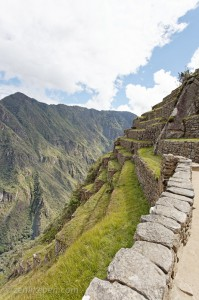 More terraces on Machu Picchu
