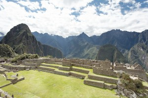 The gardens at Machu Picchu