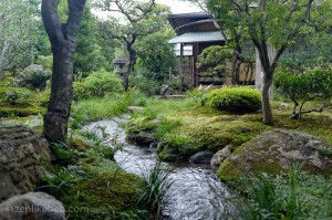 One of the many gardens at the Tenryu-ji Temple