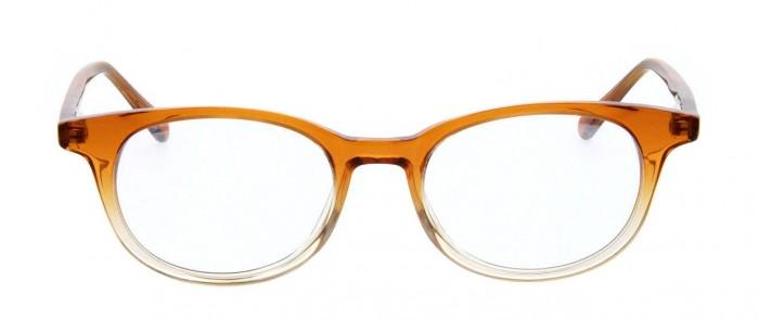 orange and grey glasses