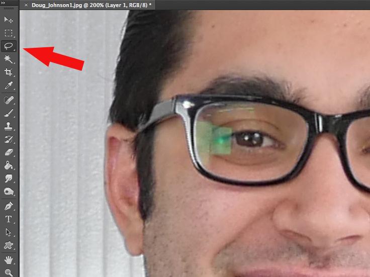 select laso tool photoshop