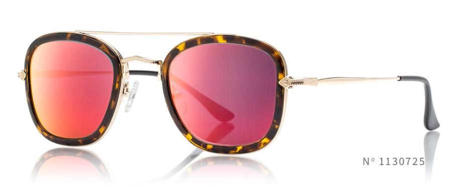 square red mirror glasses