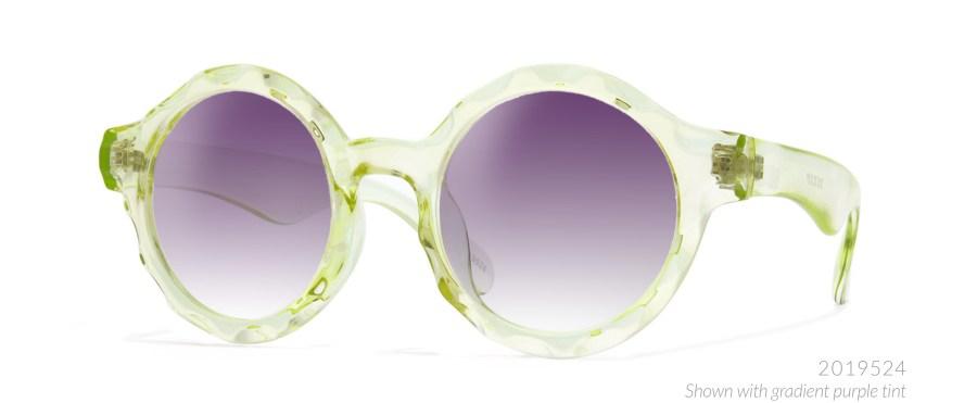 lime green edm glasses