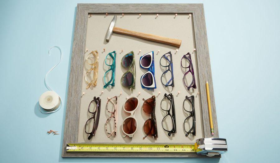 diy eyeglasses display case