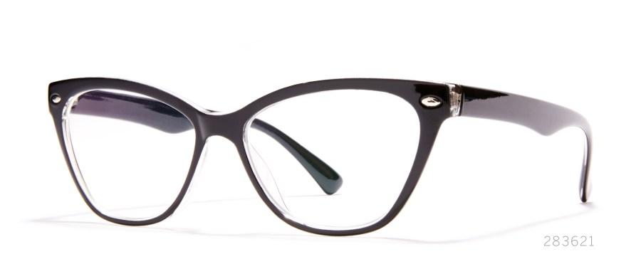 cateye statement glasses