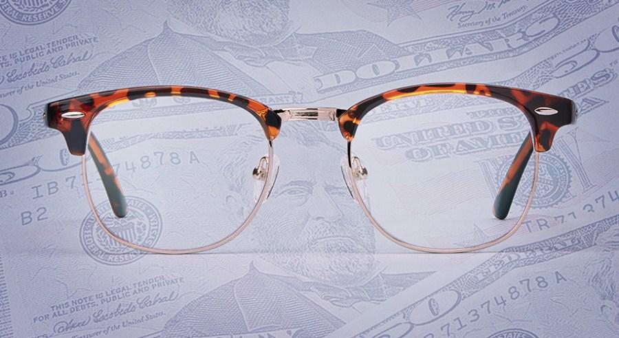 types of glasses lenses for $50